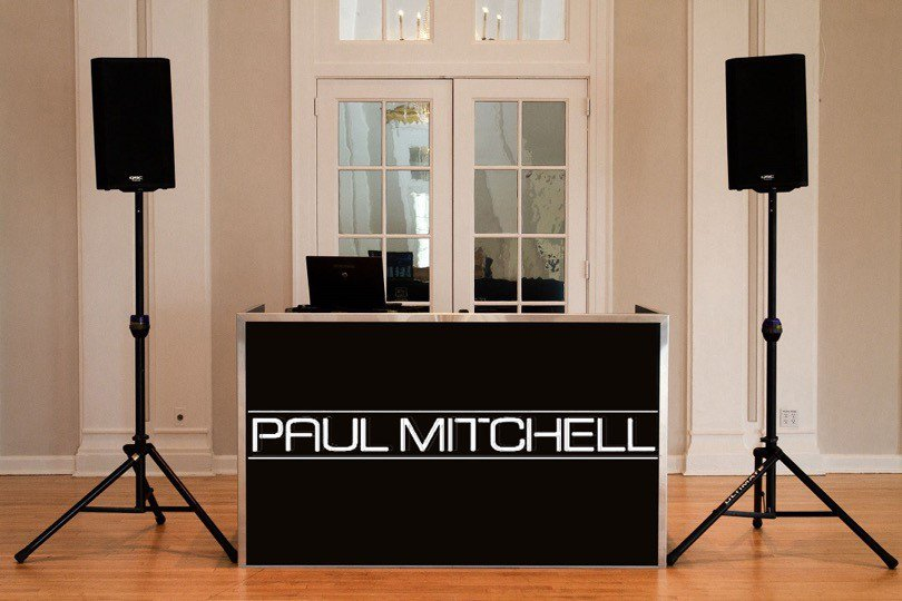 Paul-Mitchell-graphic-on-DJ-booth