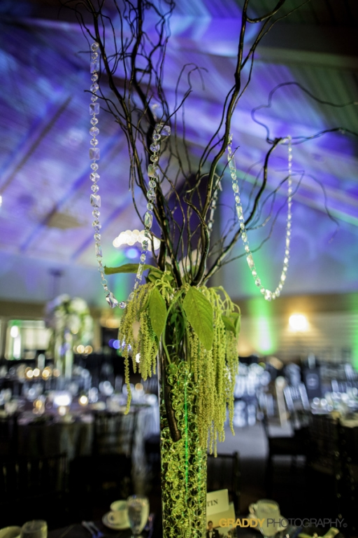 Wedding Uplighting at Dellwood Hills 12
