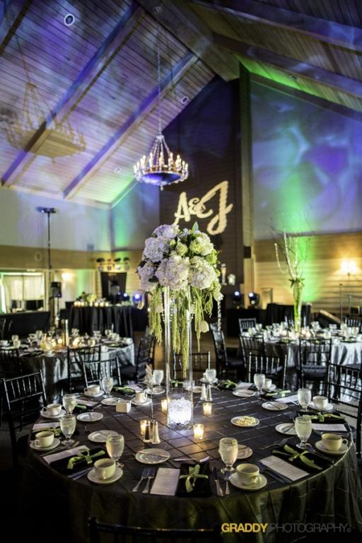 Wedding Uplighting at Dellwood Hills 27
