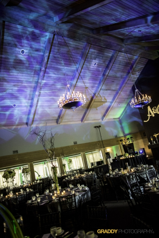 Wedding Uplighting at Dellwood Hills 28